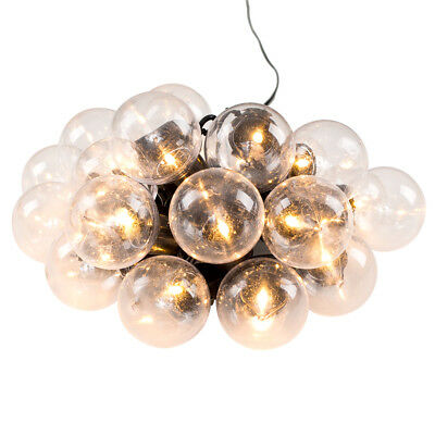 20 Warm White Globe Festoon Chain Lights Indoor / Outdoor Party Garden Lighting