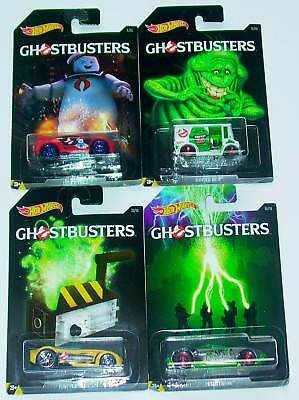 Hot Wheels Konvolut –  4 x Ghostbusters – Super!