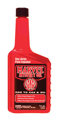 Marvel Mystery Oil 16 oz. Automotive and Marine Engines Gas or Diesel MM12R