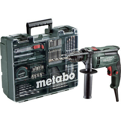 Metabo Sbe 650 650W S/Speed Impact Drill, Accs 240V 79-Pc