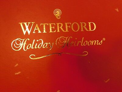 WATERFORD HOLIDAY HEIRLOOMS Sugar Plums GREEN Elf MIB Italy - Figis com invoice