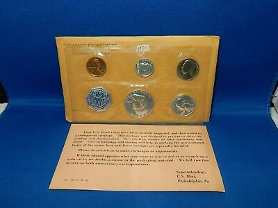 1962 US Mint Silver Proof Set