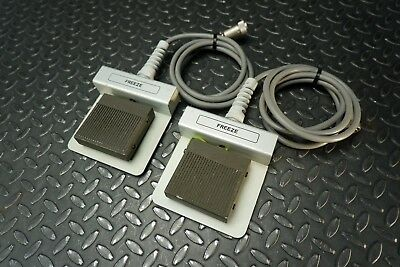 Lot of 2 GE Freeze Foot Pedal for GE RT3200 Advantage II Ultrasound