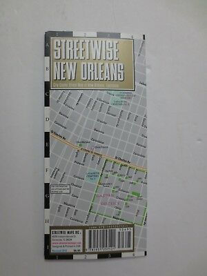 New 2012 Streetwise New Orleans Map - Laminated City Center Street Map