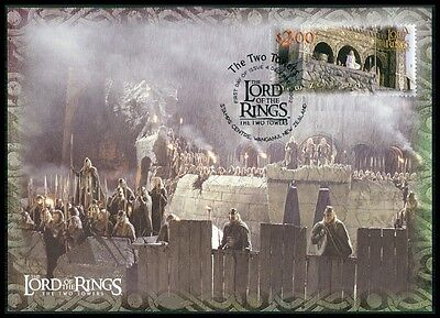 NZ MK HERR DER RINGE / LORD OF THE RINGS 2 TOWERS CARTE MAXIMUM CARD MC CM m435