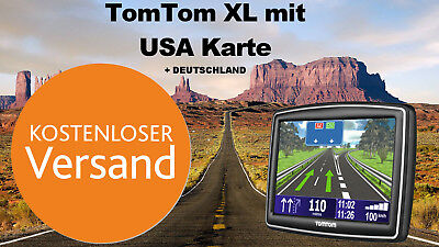 tomtom xl2 navi gps usa amerika florida la ny karten deutschland eur 64 85 picclick de. Black Bedroom Furniture Sets. Home Design Ideas