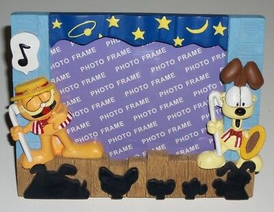 "2000 SMITH Novelty GARFIELD PICTURE FRAME Resin for 3-1/4"" x 4-1/4"" Photo NEW"