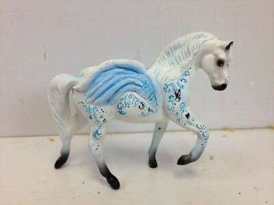 "CM Custom Breyer Stablemate ""Pegasus Decor Mare "" by Janice Flynn!!!"
