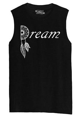 Mens Dream Dream Catcher Graphic Tee Love Dream Valentines Day Gift Tee Muscle