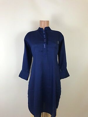 Spring Special $12.99 Classy Royal Blue Short Kurta Wear with Legging or Patiala