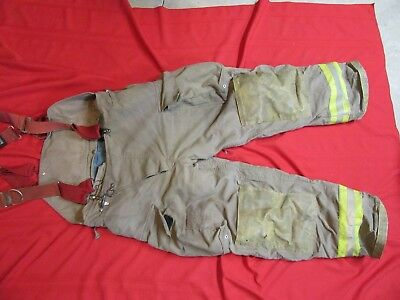 2005 CHIEFTAIN Firefighter Bunker Turnout Pants 39-42 x 31  thermal liner