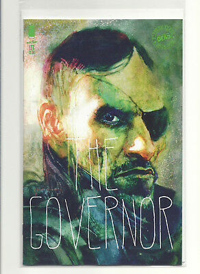 Walking Dead #177 Cvr B Sienkiewicz Image New World Order Governor 3-07-18