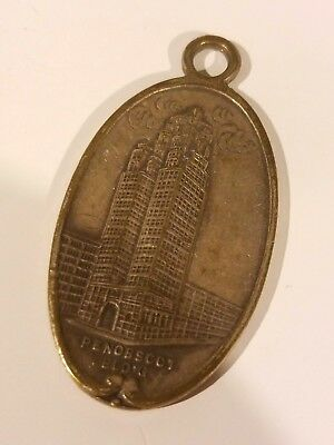 Vintage Greater Penobscot key fob - Detroit Michigan