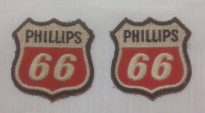Phillips 66 Gasoline Gas Employee Service Station Sew on Patch Vintage Employee