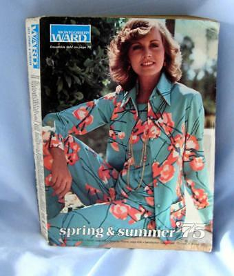 Vintage Montgomery Ward Spring Summer '75 Catalog Styles Auto Home Family Owned