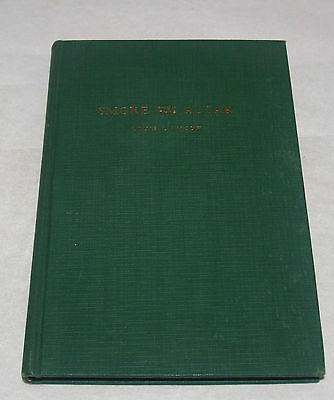 Louis L'amour Smoke From This Altar First Edition Poetry Book Signed Ok 1939