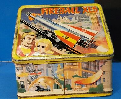 Fireball xl5 lunchbox thermos too!!! WOW!