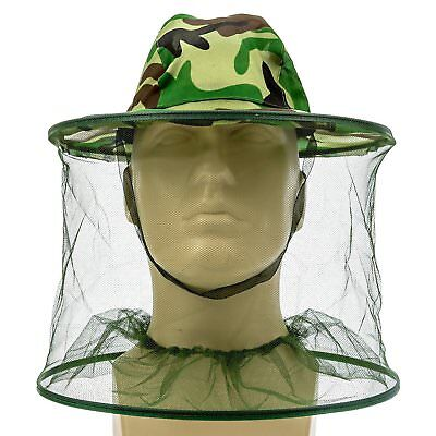 1x Apiculteur Beekeeper Hat Anti-Moustique Insect Net Head Face Protector