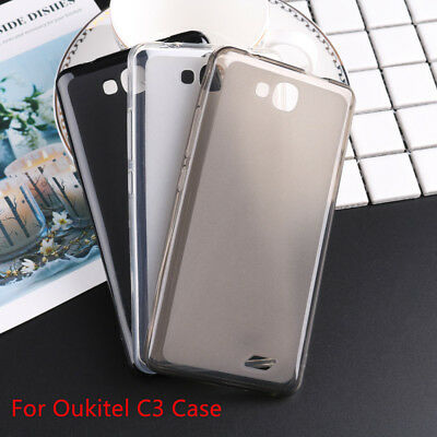 TPU Matte Soft Silicone Cover Pudding Protector Cover Case skin For Oukitel C3