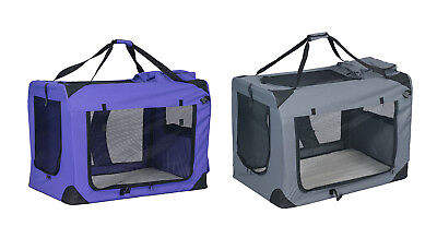 Pet Dog Carrier Travel Tote Dog Crate Cat Puppy Carrying House Training Kennel