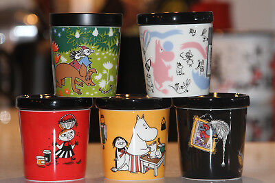Arabia Moomin Jars ~ All 0,3L Jars together ~