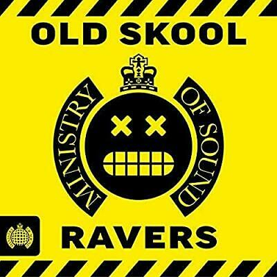 Old Skool Ravers - Ministry Of Sound -  CD SNVG The Cheap Fast Free Post The