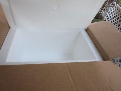 HUGE 16.5 by 25 by 16 Inch Insulated Shipping Cooler, 2 Inch Interior Sides! C8