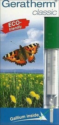 ORIGINAL Geratherm Classic Eco Thermometer - no battery or toxic materials
