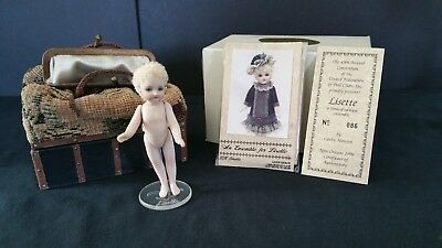 Lisette a Mignonette Reproduction Doll by Cathy Hansen for 1998 UFDC NIB