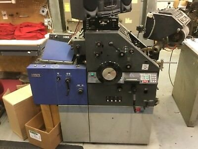 AB A.B. Dick QP 25 Duplicator Printing Press w/T-Head Townsend For Parts Only