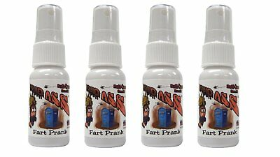 4 x Liquid Ass Spray Mister Fart Prank Pooter Stink Bottle Smell Bomb Prank Gag