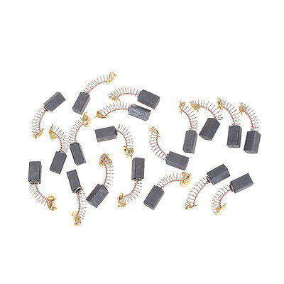 20pcs 6.5x7.5x13.5mm Carbon Brushes Repairing Part Generic Electric Motor ME