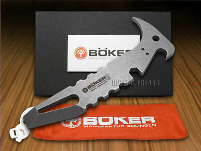 BOKER TREE BRAND Solid 440c Stainless Steel Minibar Leverage Tool
