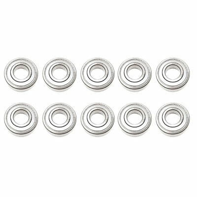 10x 628 ZZ Metal Sealed Deep Groove Ball Bearings - 8x24x8 mm