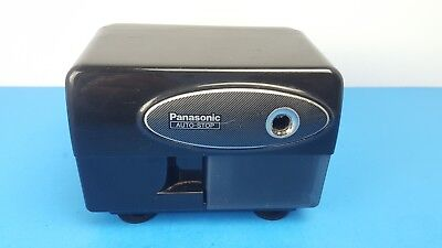 Panasonic Auto-stop KP-310 Electric Pencil Sharpener Black KP 310