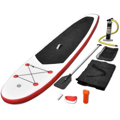 Stand Up Paddle Planche à Rame Planche Stand Up Rouge et Blanc☺