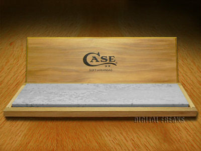 CASE XX Soft Arkansas Wide Bench-Top Sharpening Stone for Pocket Knives