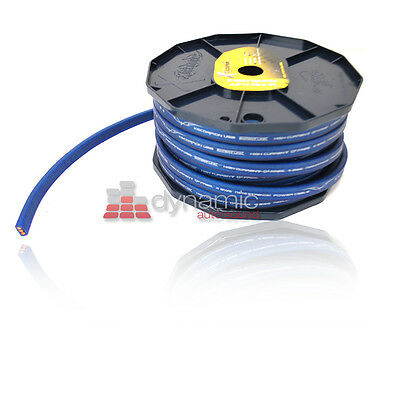 xScorpion FP4.80BL 80 ft. Spool 4 Gauge AWG Flat Power/Ground Cable in Blue New