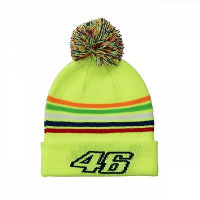 Official Valentino Rossi VR46 Yellow Kids Doctor Beanie - VRKBE 307828