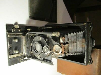Ihagee Bellows Camera DRP DRGM w/ 135mm, 1:6.8 Anastigmat Lens -Poor Condition