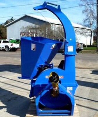 """Wood Chipper, Tractor PTO 3-Point: Wallenstein BX62S Chips 6""""Dia x 12"""" Wide!"""