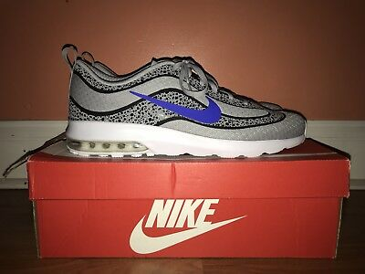 sale retailer 1f48c 6a9b8 Nike Air Max Mercurial 98 Wolf Grey Racer Blue Men s Size 12 818675-004
