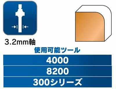 Dremel 615 Router Bit (Japan Import)