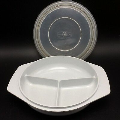 NORDIC WARE Microwave Divided Dish Bowl Plate W Lid Three For One & Awesome Divided Dinner Plates With Lids Gallery - Best Image Engine ...
