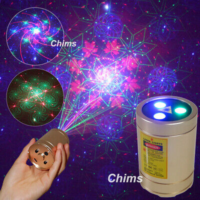 Chims DJ Laser GB 40 Patterns Stage Light LED Home Family Party Show Projector