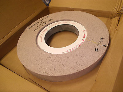 "Surface grinding wheel 20"" x 3"" x 8"" arbor hole 2"" thick there N407040 ? norton"