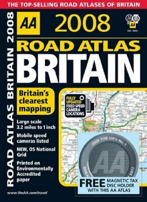 Road Atlas Britain (AA Atlases) (AA Atlases) (A... by AA Publishing Spiral bound