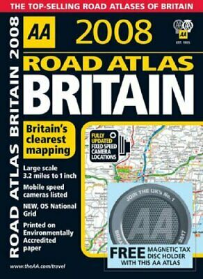Road Atlas Britain (AA Atlases) (AA Atlases) by AA Publishing Spiral bound Book