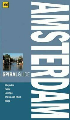Spiral Guide Amsterdam (AA Spiral Guides) by AA Publishing Spiral bound Book The
