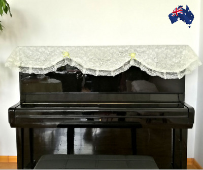 Dust-proof Piano Cover Lace Upright Piano Cover NEW
